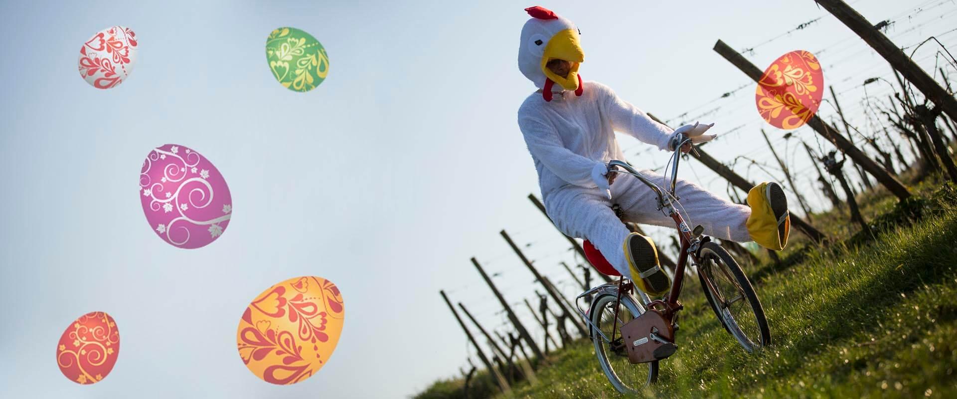 MarcoVelo vous souhaite<br> d'excellentes fêtes de pâques